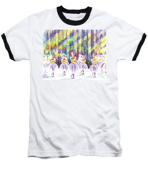 Dancers In The Forest Baseball T-Shirt