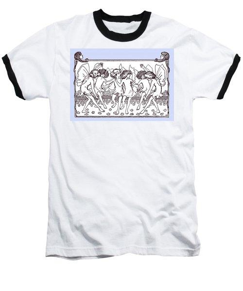 Dancing Fairies From 1896 Baseball T-Shirt