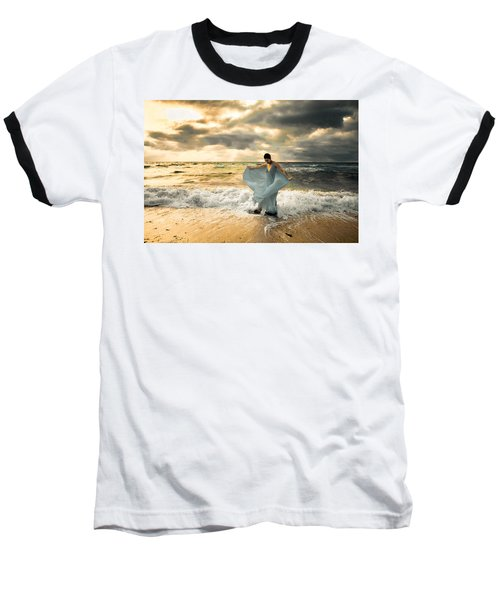 Dancing In The Surf Baseball T-Shirt