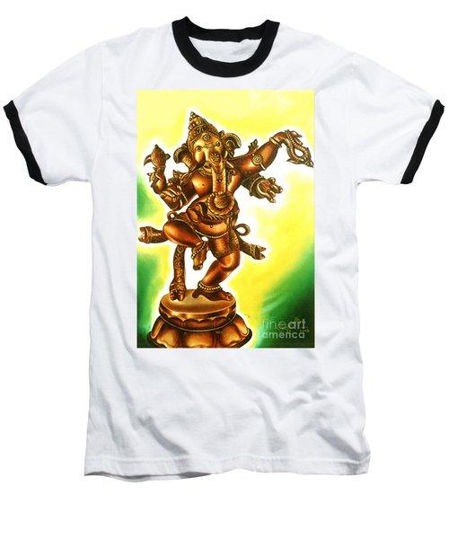 Dancing Vinayaga Baseball T-Shirt