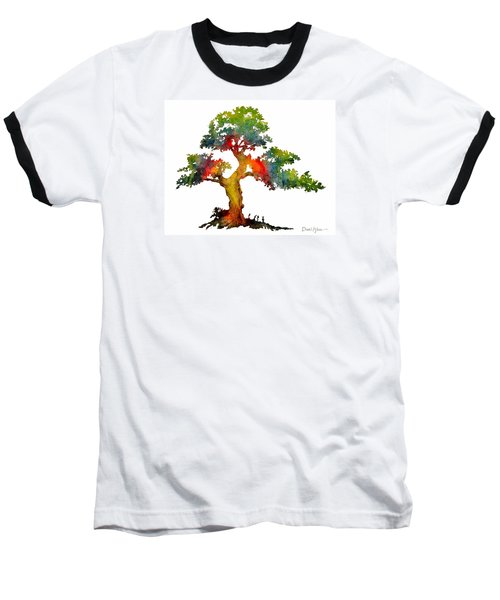 Da140 Rainbow Tree Daniel Adams Baseball T-Shirt
