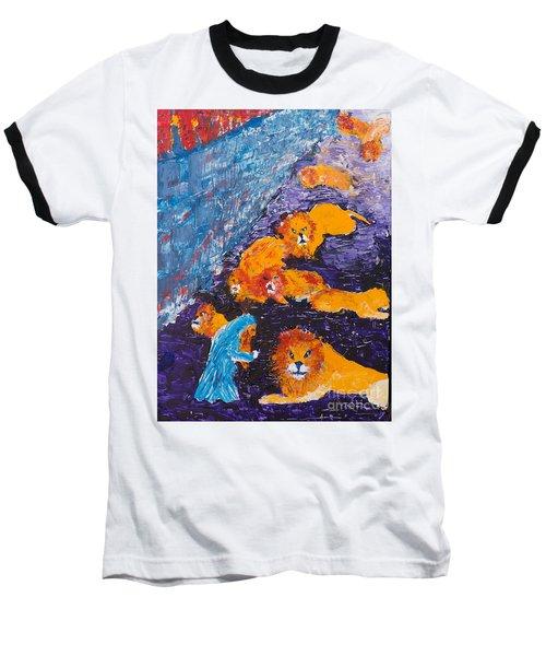 Daniel And The Lions Baseball T-Shirt
