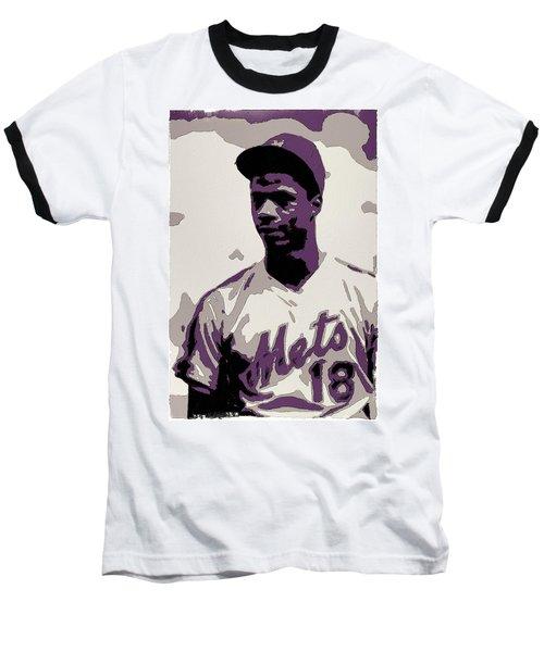 Darryl Strawberry Poster Art Baseball T-Shirt