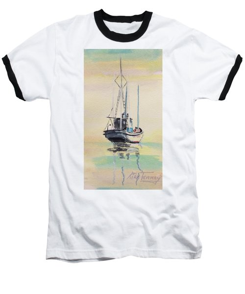 Baseball T-Shirt featuring the painting Day Of Rest by Stan Tenney
