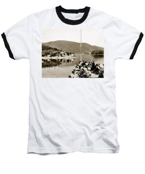Dayliner At The Narrows In Sepia Tone Baseball T-Shirt