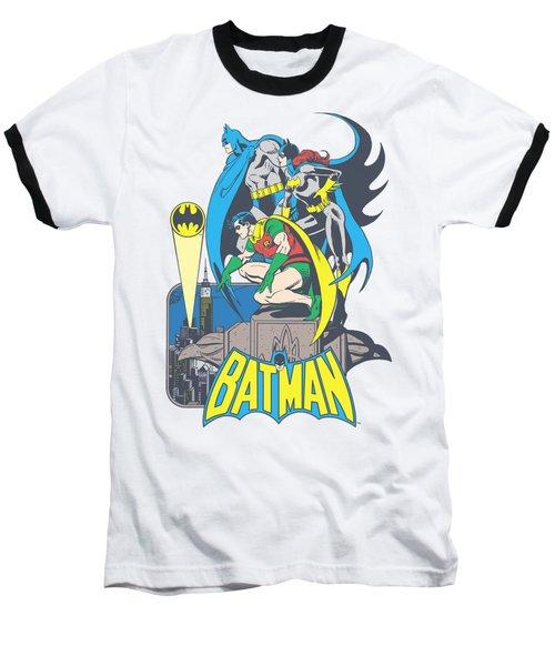 Dc - Heroic Trio Baseball T-Shirt