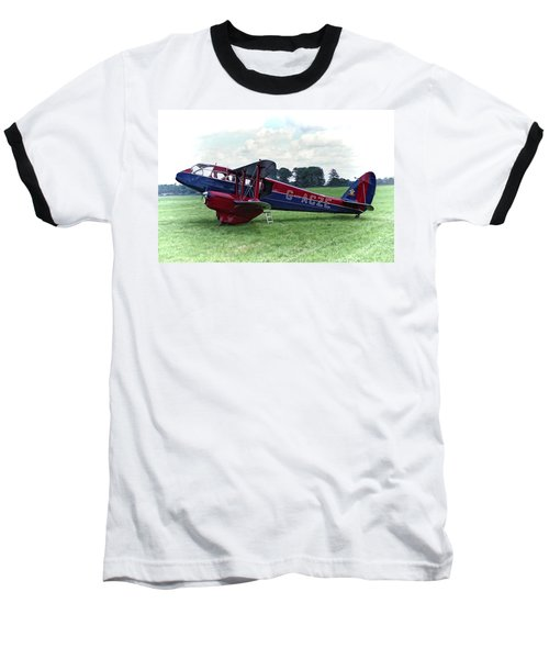 De Havilland Dragon Rapide Baseball T-Shirt