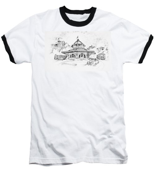 Decatur Transfer House Baseball T-Shirt