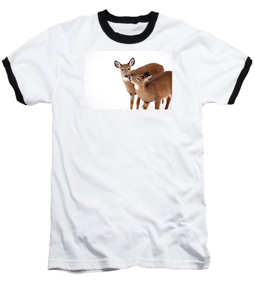 Deer Kisses Baseball T-Shirt