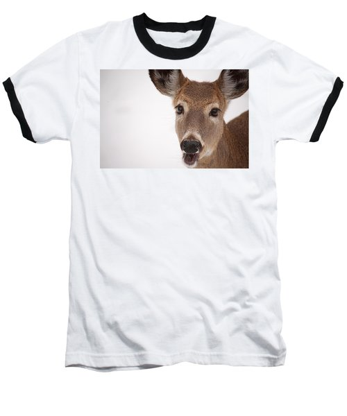 Deer Talk Baseball T-Shirt