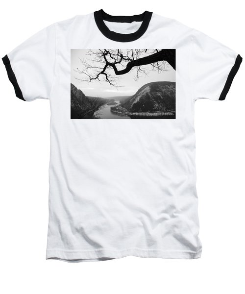Delaware Water Gap In Winter Baseball T-Shirt