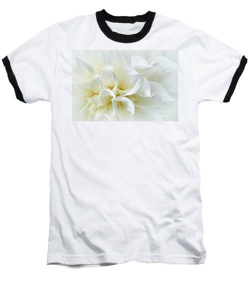 Delicate White Softness Baseball T-Shirt