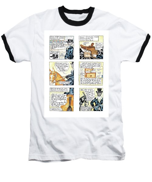 'dept. Of Equitation' Baseball T-Shirt