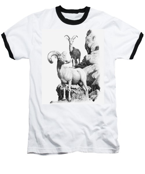 Desert Bighorns Baseball T-Shirt