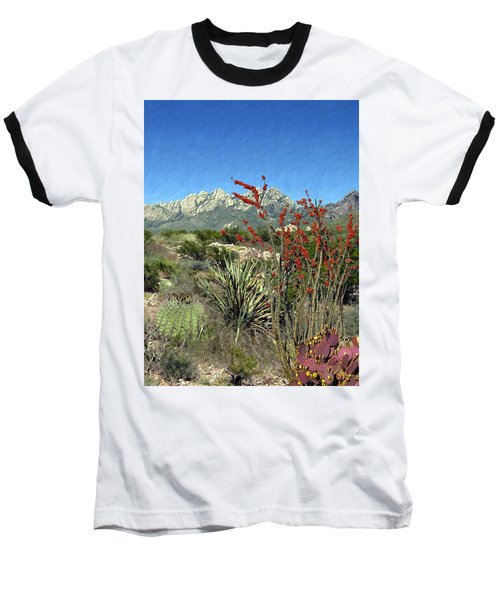 Desert Bloom Baseball T-Shirt