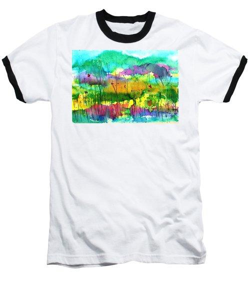 Desert In The Spring Baseball T-Shirt