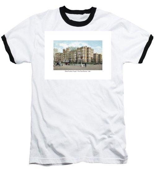 Detroit - Providence Hospital - West Grand Boulevard - 1926 Baseball T-Shirt