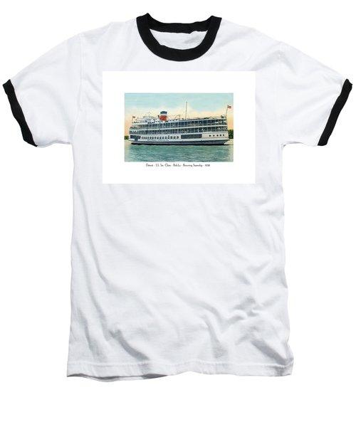 Detroit - Ss Sainte Claire - Boblo - Browning Steamship - 1938 Baseball T-Shirt