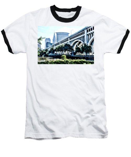 Detroit-superior Bridge - Cleveland Ohio - 1 Baseball T-Shirt