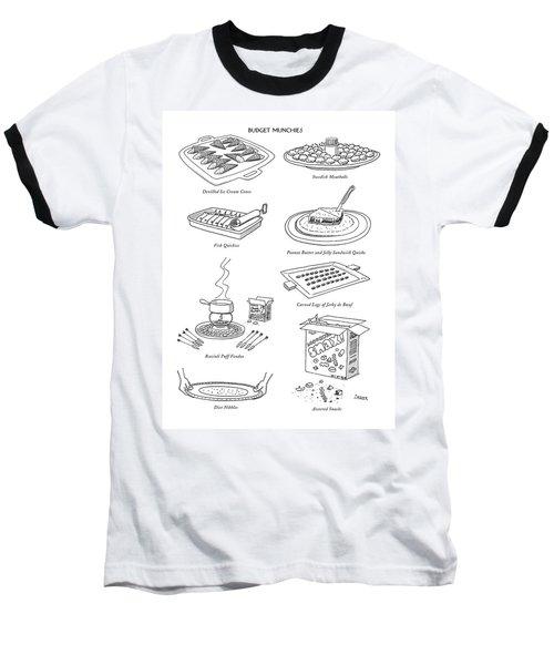 Devilled Ice Cream Cones  Swedish Furballs   Fish Baseball T-Shirt