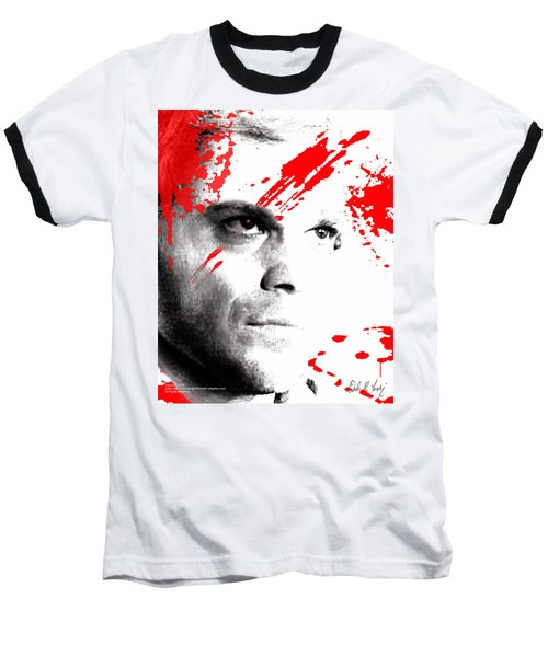 Dexter Dreaming Baseball T-Shirt by Dale Loos Jr