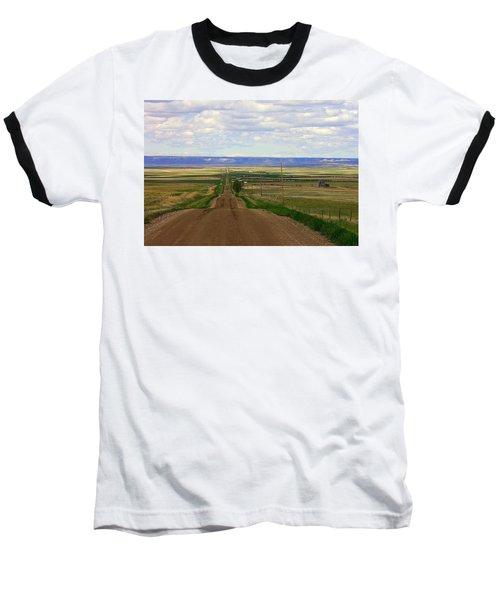 Dirt Road To Forever Baseball T-Shirt