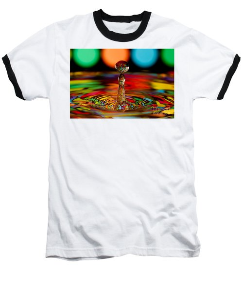 Disco Ball Drop Baseball T-Shirt