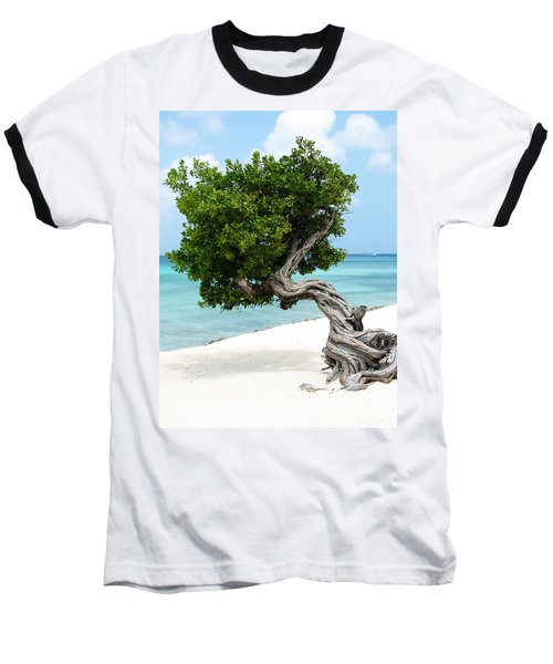 Divi Divi Tree In Aruba Baseball T-Shirt