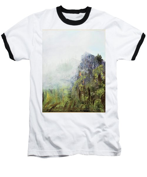Baseball T-Shirt featuring the painting Dixville Notch Nh by Michael Daniels
