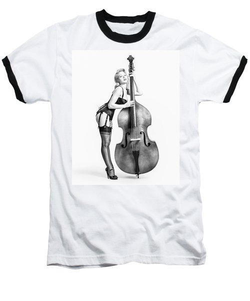 Doghouse With Mosh - String Bass Baby   Baseball T-Shirt
