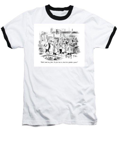 Don't Mind Baseball T-Shirt