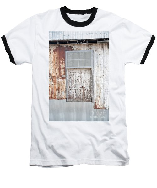 Door 2 Baseball T-Shirt by Minnie Lippiatt