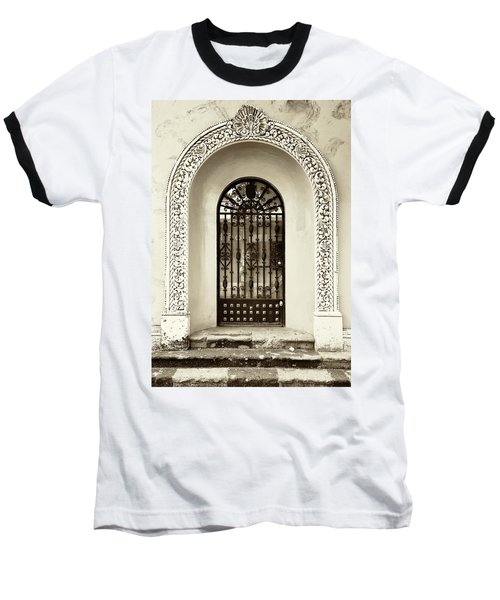 Door With Decorated Arch Baseball T-Shirt