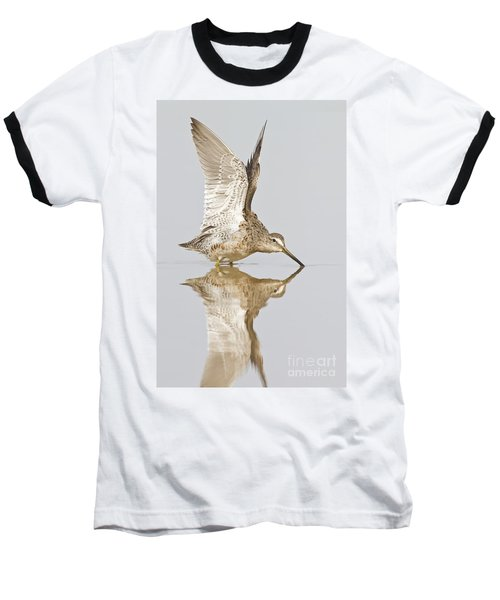 Dowitcher Wing Stretch Baseball T-Shirt