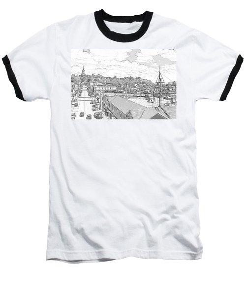 Downtown Port Washington Baseball T-Shirt