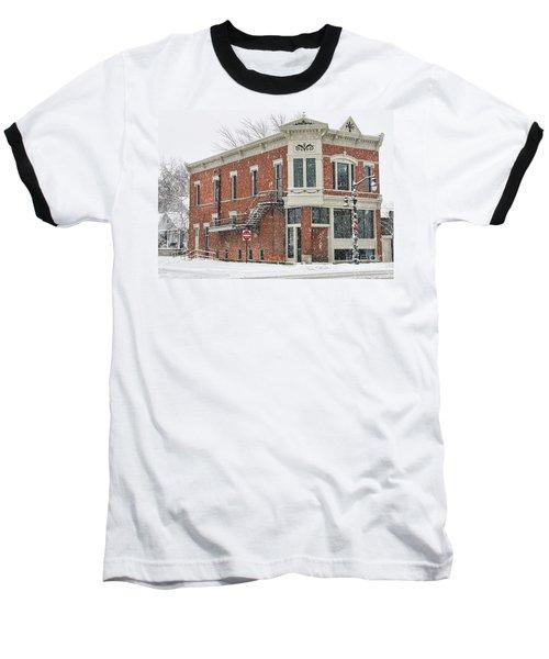 Downtown Whitehouse  7031 Baseball T-Shirt by Jack Schultz