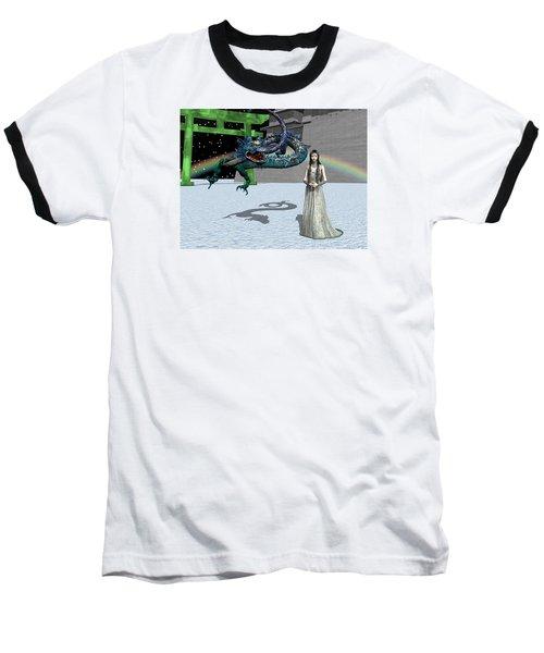 Dragon New Year Baseball T-Shirt by Michele Wilson