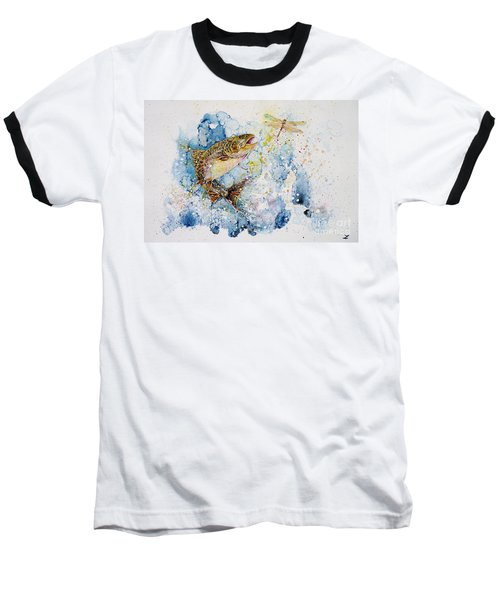 Dragonfly Hunter Baseball T-Shirt