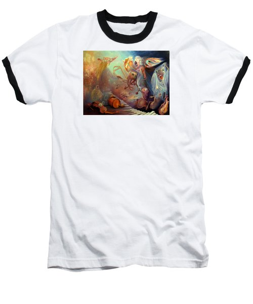 Dream Immersion Baseball T-Shirt by Mikhail Savchenko