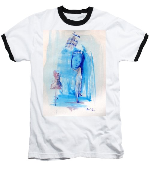 Baseball T-Shirt featuring the painting Dreaming Of Pisa by Laurie L