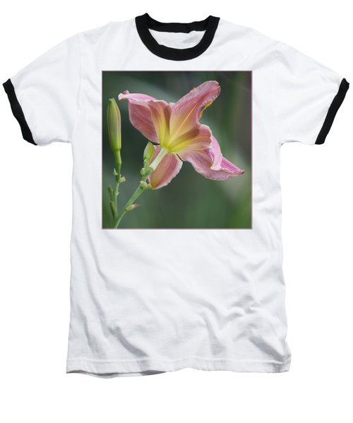 Baseball T-Shirt featuring the photograph Dreamy Daylily by Patti Deters
