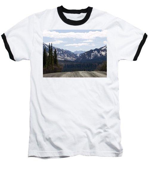 Drop Off Baseball T-Shirt by Tara Lynn