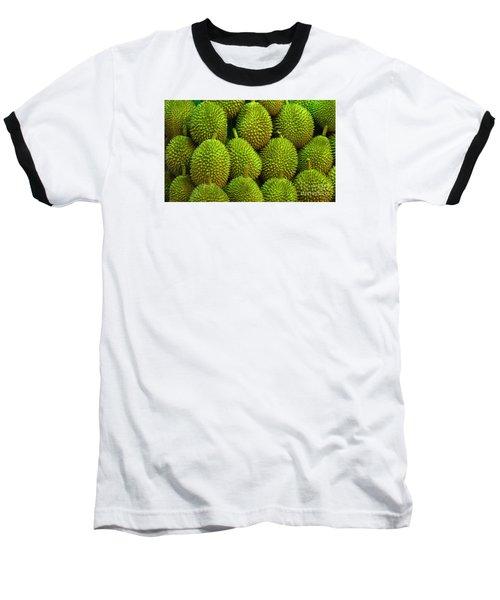 Durian Baseball T-Shirt by Ranjini Kandasamy