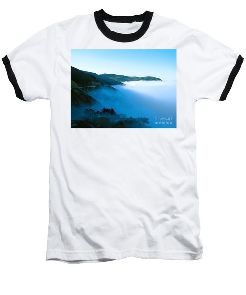 Early Morning Coastline Baseball T-Shirt