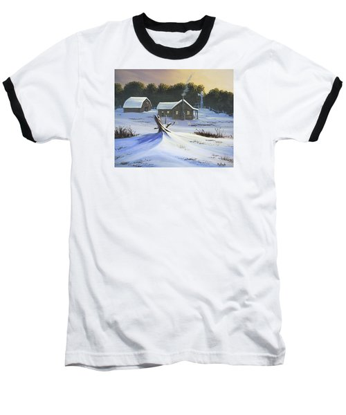 Early Snow Baseball T-Shirt by Jack Malloch