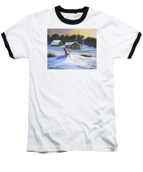 Early Snow Baseball T-Shirt
