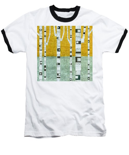 Early Winter Birches Baseball T-Shirt