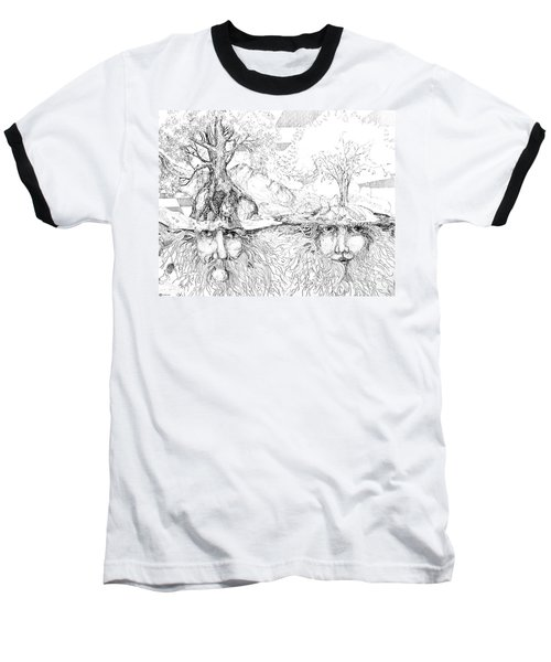 Earth People Baseball T-Shirt