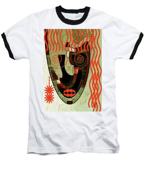 Earthy Woman Baseball T-Shirt