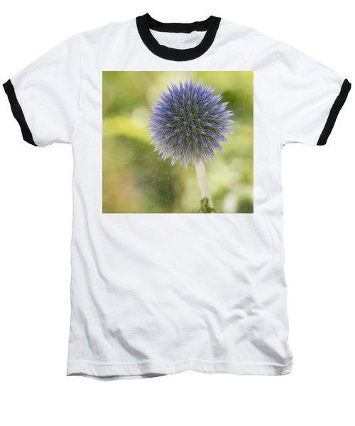 Echinops Blue Baseball T-Shirt